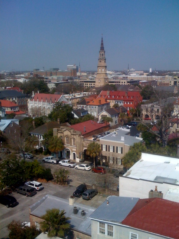 10 reasons why me timbers start to shiver when I think about moving out of Downtown Charleston