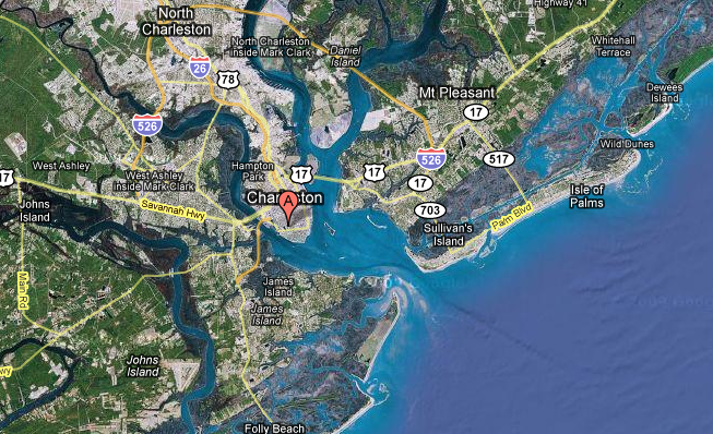 NYC vs Charleston Geography – Long Lost Sisters?