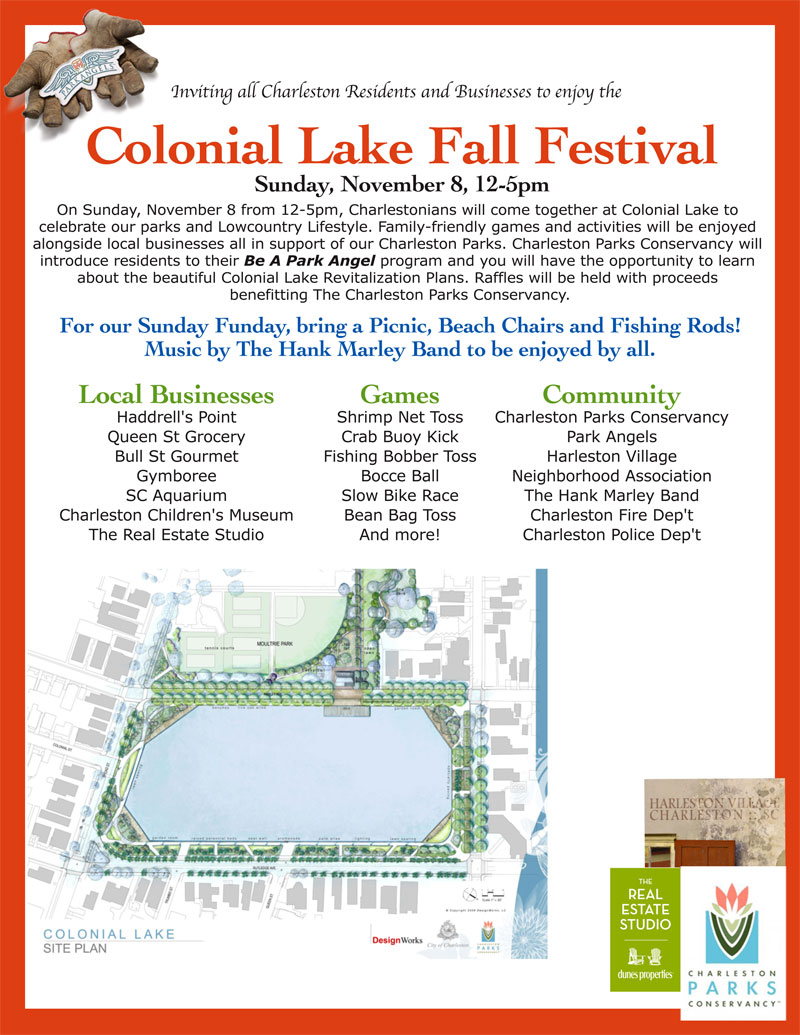 Colonial Lake Fall Festival Sunday, November 8