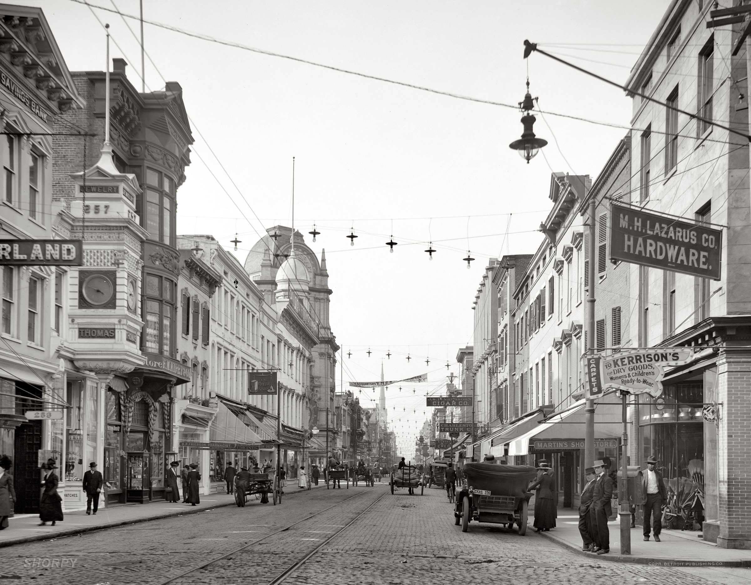 Historic King Street in 1915