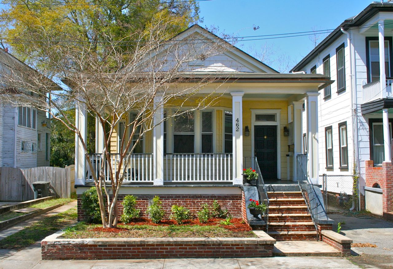 Classic 1930s Bungalow at 462 Huger St Charleston, SC in Hampton Park Terrace