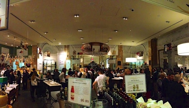 Eataly NYC from my trip there in January