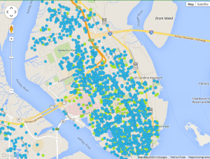 Downtown Charleston Permits and Projects