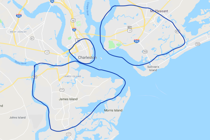 A Real Estate Tale of Three Cities – Charleston, James Island & Mount Pleasant